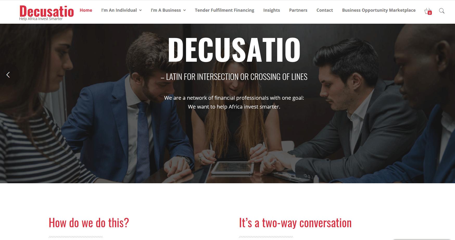 Decusatio