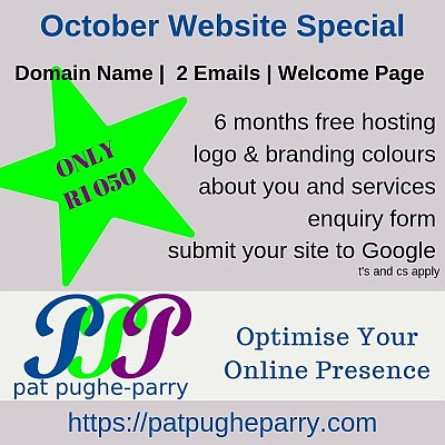 October website special