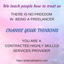 Stop being a freelancer